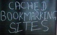 Cache bookmarking site list