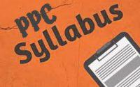 PPC Syllabus ALLUPOST