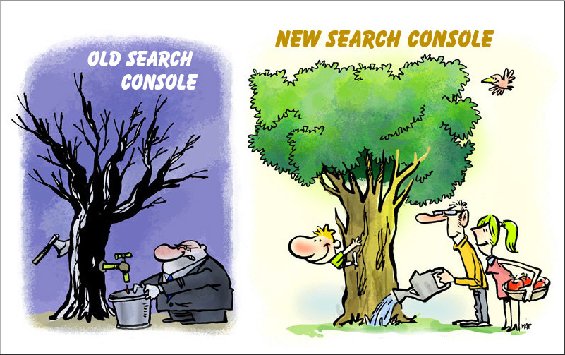 new Search console or Webmaster Tools vs Old