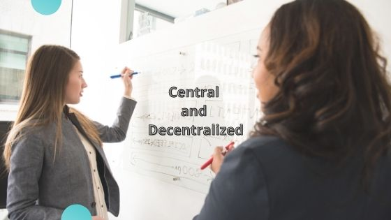 exchange central and decentralized