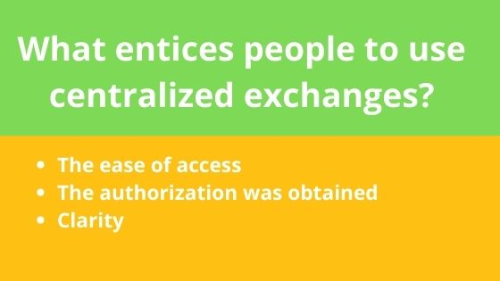 exchange centralized