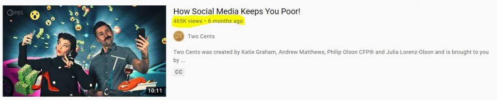 social media Youtube
